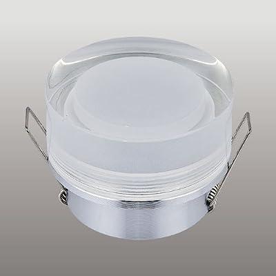Aluminium Einbaustrahler Spot Acryl Einbauleuchte IP44 GU10 GX5,3 MR16 911 Alu von SW-Style auf Lampenhans.de