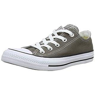 Converse Unisex-Erwachsene Chuck Taylor All Star-Ox Low-Top Sneakers, Grau (Charcoal), 45 EU