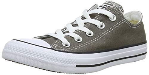 Converse Chuck Taylor All Star Season Ox, Zapatillas de Tela Unisex Adulto, Gris, 46.5 EU