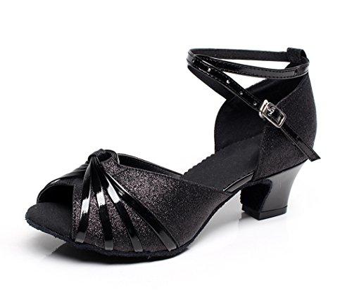 Minitoo ,  Damen Tanzschuhe , Schwarz - schwarz - Größe: 36.5