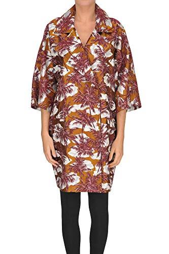 Tagliatore &Helen& Jacquard Fabric Coat Woman Multicoloured 44 IT -