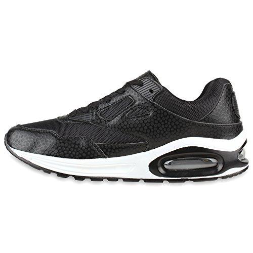 Damen Herren Unisex Laufschuhe Neon Runners Casual Schuhe Sportschuhe Schwarz Weiss Weiss