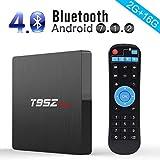 T95Z Max Android 7.1 TV BOX, 2GB RAM 16GB ROM Amlogic S912 Octa Core Processore 64 bit, 2.4 Ghz/5 Ghz Dual Band WiFi Bluetooth 4.0 1000 LAN Enternet