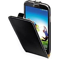 Hama Flip Case (für Samsung Galaxy S4 Tasche, maßgefertigte Schutzhülle mit Magnetverschluss) schwarz