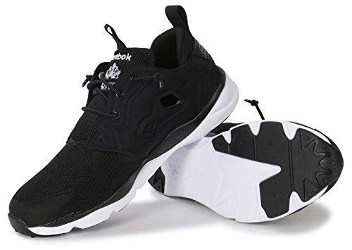 Reebok Furylite, Détente/Streetwear homme Noir et blanc