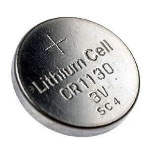 CR1130 Pile bouton au lithium, 70mAh