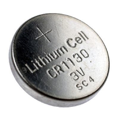 CR1130 al litio moneta batteria, 70mAh