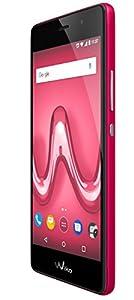 Wiko Tommy 2 Smartphone débloqué 4G (Ecran: 5 pouces - 8 Go - Double Micro-SIM - Android 7.0) Rouge