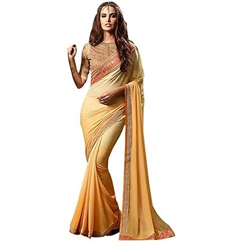 bollywood saree Punjabi matrimonio sexy nuova donne musulmane Cut lavoro