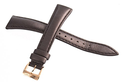 Genuine Raymond Weil Geneve Brown Fabric Watch Band cinturino con fibbia...