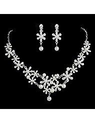 GYJUN Ensemble de bijoux Femme Anniversaire / Mariage / Fiançailles / Cadeau / Soirée / Quotidien / Occasion spéciale Parures Alliage Stras