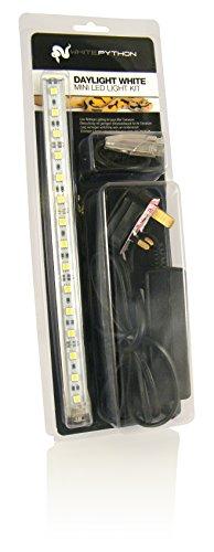 WhitePython Mini LED Light Kit, 30 cm, Daylight White Test