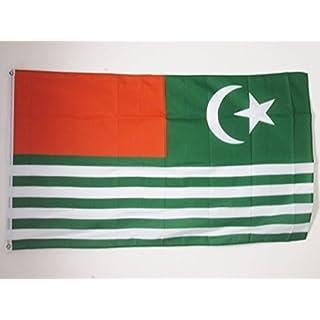 AZ FLAG Azad Kashmir Flag 2' x 3' - AJK Free Kashmir flags 60 x 90 cm - Banner 2x3 ft