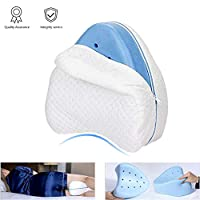 Knee Pillow, Legacy Leg Pillow for Back, Support Sleeping Relief From Pain [White]