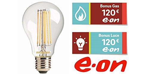 Lampadina Led 12 W (equivalenti a 100 W) e Sconto di 240 € su luce e...