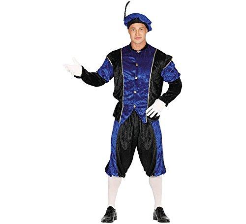 Guirca Costume vestito principe paggio medievale carnevale uomo 4164_ L
