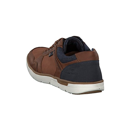 Tom Tailor 4880301, Baskets Homme Marron (Cognac)
