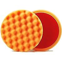 ALCLEAR Set di 2 dischetti per lucidatura a cialda anti ologrammi per un sistema disco Ø 135x25 mm, orange - ukpricecomparsion.eu