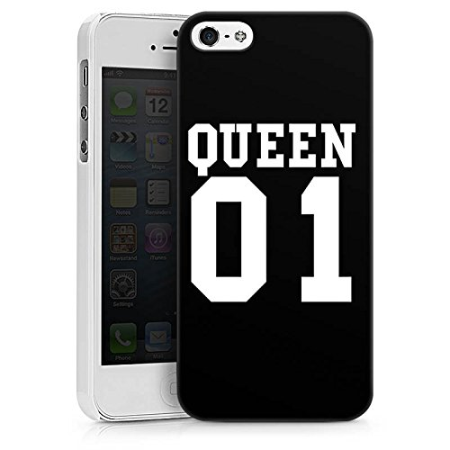Apple iPhone 6s Hülle Case Handyhülle Queen 01 Königin Pärchen Hard Case weiß