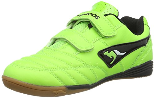 KangaROOS Unisex-Kinder Power Court Low-Top, Grün (Neon Green 890), 27 (Schuhe Neon Grün)