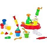 Kidea 8014966381877Pâte à Modeler Cupcake Machine Enfant erknete