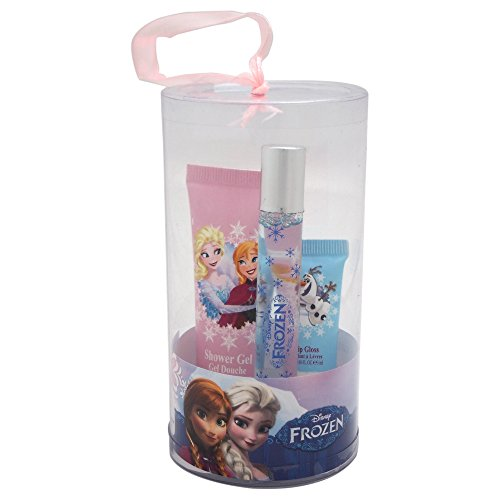 Disney frozen rollerball 9 ml/bagnoschiuma 25 ml/lip gloss