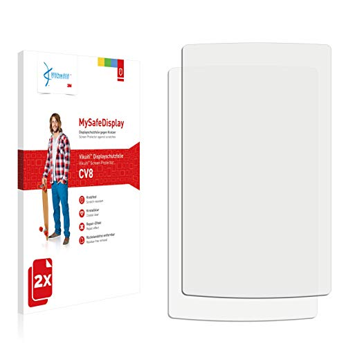 Vikuiti 2X Displayschutzfolie CV8 von 3M kompatibel mit Sony Walkman NWZ-A867 Schutzfolie Folie - A867 Cover