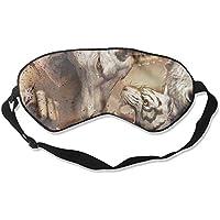 Sleep Eye Mask Animals Abstract Lightweight Soft Blindfold Adjustable Head Strap Eyeshade Travel Eyepatch preisvergleich bei billige-tabletten.eu
