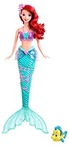 Mattel Disney Princess X9396 - Wasserzauber Arielle, Puppe
