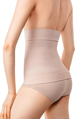 MD Shapewear Body Shaper Mieder Taille Trainer Waist Shaper Taillenmieder Taillenformer Nude