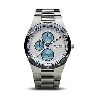 BERING Reloj Analógico para Hombre de Cuarzo con Correa en Acero Inoxidable 32339-707