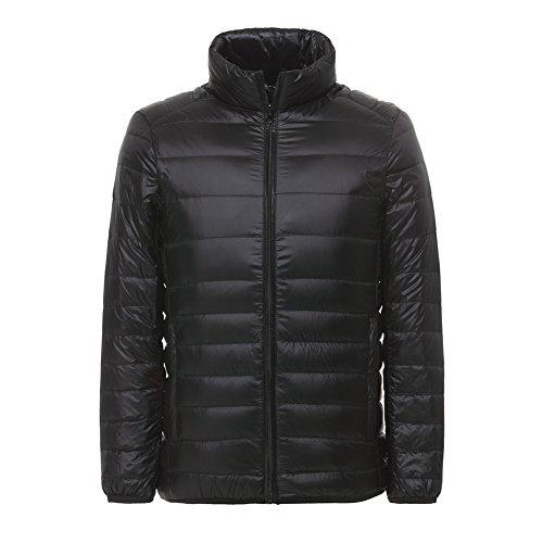 LANBAOSI Mens Packable Puffer Jacket Lightweight Winter Jackets Warm Quilted Coats