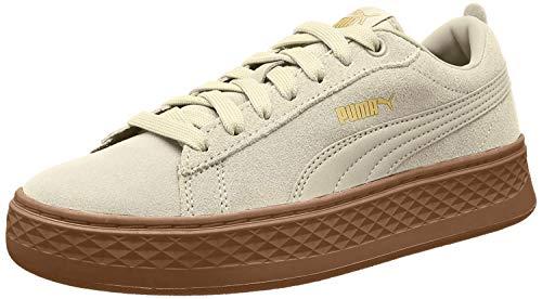 Puma Damen Smash Platform SD Sneaker, Beige (Birch-birch), 40.5 EU (7 UK)
