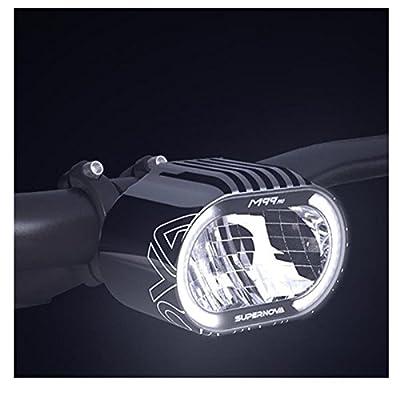 SUPERNOVA M99 Pure LED Fahrrad Scheinwerfer Tagfahrlicht 500 Lumen E-Bike, P-M99-E8-BLK