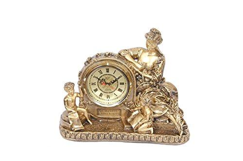 Uhr Gold Tisch in Paris Stil Möbel Fake Vintage Luigi XVI