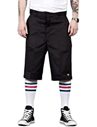 "Dickies - Shorts de travail - Noir 42274 Shorts avant plat 13"" short DICKIES42274BK"