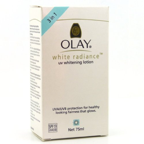 Olay White Radiance UV Whitening Lotion SPF 19 75ml by Olay - Sculpting Lotion