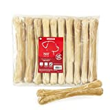Classic Pet Products - Osso per nocche in Cuoio Grezzo pressato, 265 mm, Confezione da 10