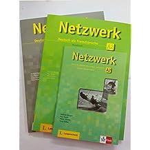 Netzwerk Deutsch als Fremdsprache A2 (Textbook + Workbook + Glossar) (with 2 CDs)