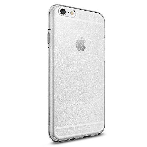 coque transparente iphone 6 pailette