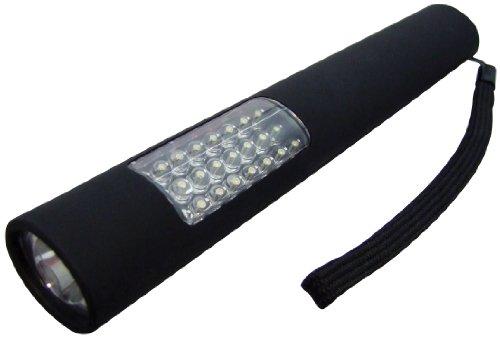 Am-Tech 2-in-1 Taschenlampe mit 25 LEDs und 4 AAA-Batterien