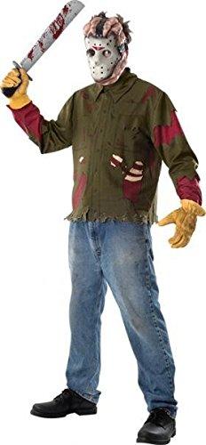 Generique - Jason-Kostüm aus Freitag der 13. für Herren (Jason Kostüm)