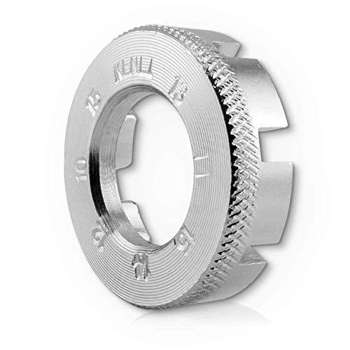 Fahrrad Speichenschlüssel Rad Zentrierer 8-fach Teller Schlüssel für Speichen Größe 10-15 von Fahrrad bis Mofa in Werkstattqualität! Nippelspanner- Speichenspanner - Spanschlüssel.