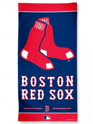 "Boston Red Sox MLB Beach Towel (30x60"")"""