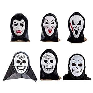 PRETYZOOM Máscara de Miedo Máscara