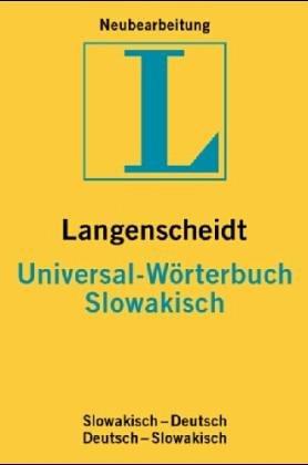 Langenscheidts Universal-Wörterbuch, Slowakisch (Langenscheidt universal woerterbuchs)
