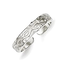 Fancy Sterling Silver Toe Ring