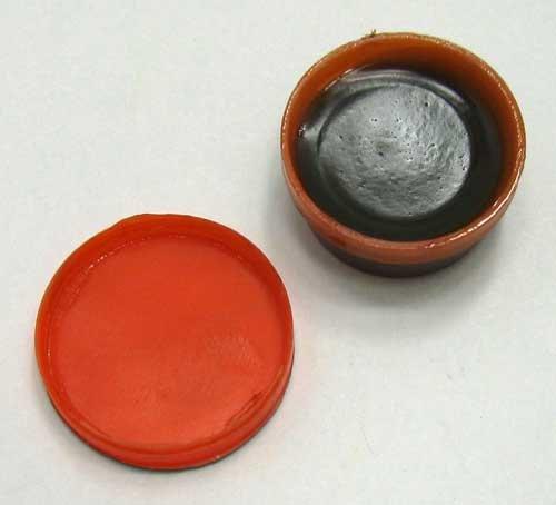 Preisvergleich Produktbild Lötfett 10 g in einer Kunststoffdose, Weich Löt Hilfe Paste Fett, Flussmittel (LHS)