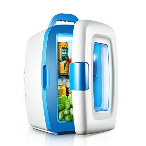 LHAO Mini-Kühlschrank, Autokühler, Kühl- und Wärmepumpen Thermoelektrischer Kühlschrank, tragbarer Kompakt, Road Trips, Häuser, Büros und Schlafsäle -