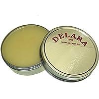 DELARA Cera para muebles de muy alta calidad con yoyoba y cera de abeja. Color: incoloro - Made in Germany